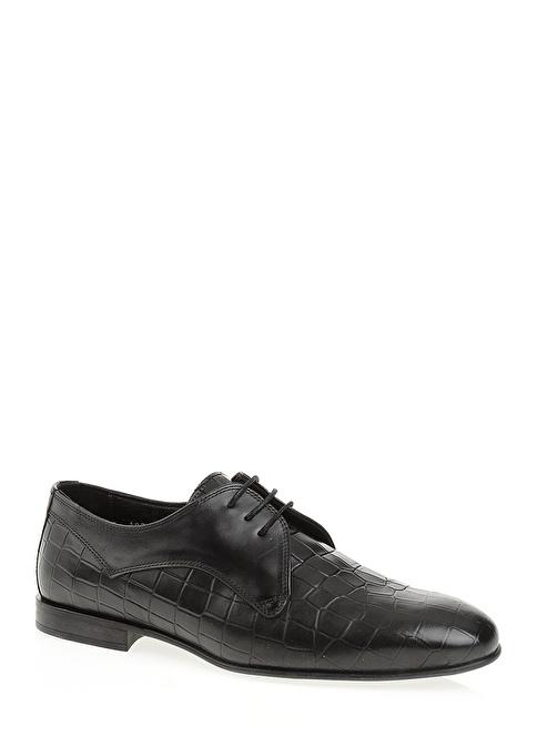 D by Divarese Hakiki Deri Klasik Ayakkabı Siyah